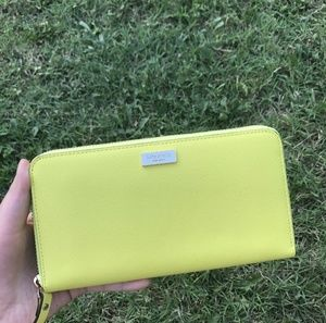 Kate Spade Neda Leather Zip Wallet Wlru1498